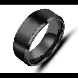 Other - 8MM men wedding band titanium ring band jewelry